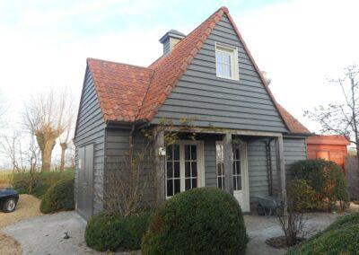 0635 – Bijgebouw houtskelet